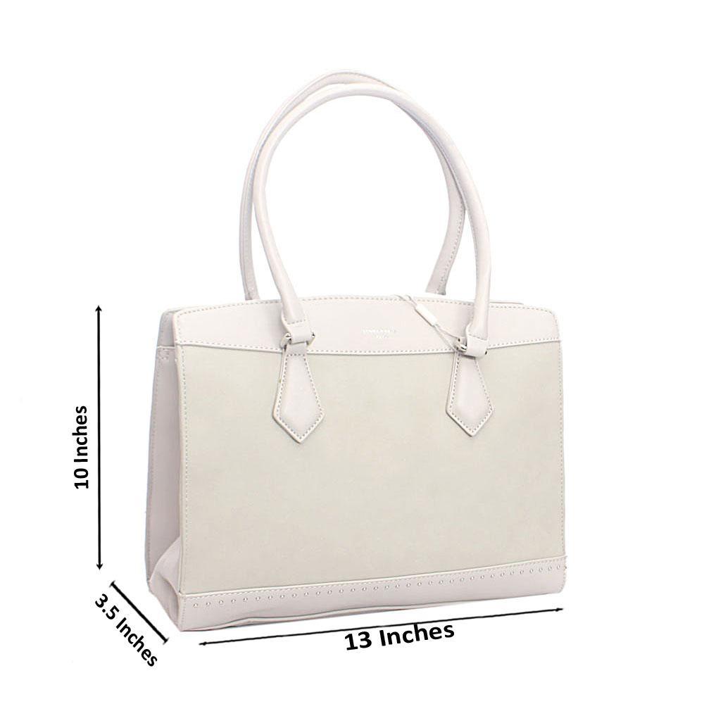 Grey Jones Tandy Leather Handbag