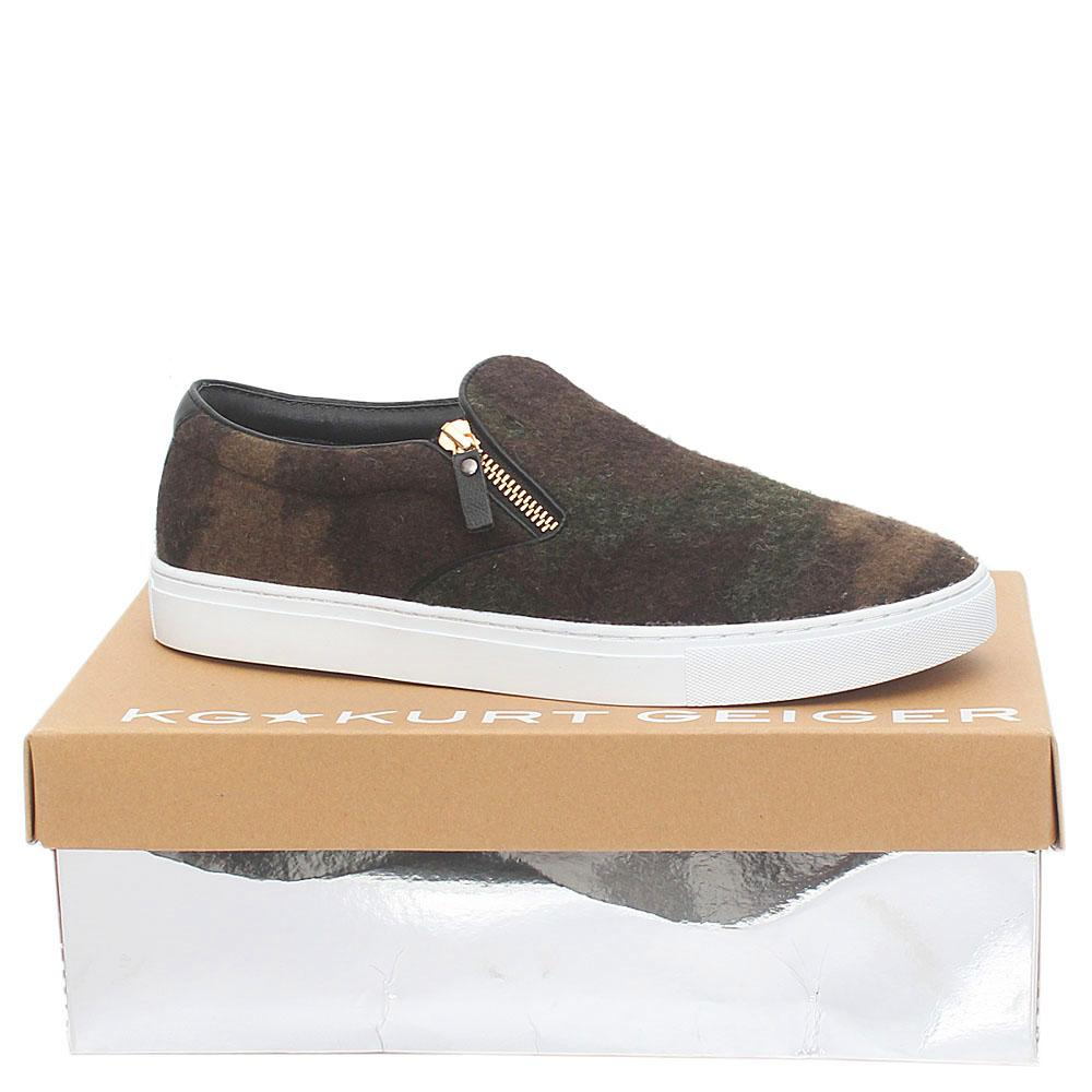 Kurt Geiger Speacial Carmo  Furry Leather Men Sneakers