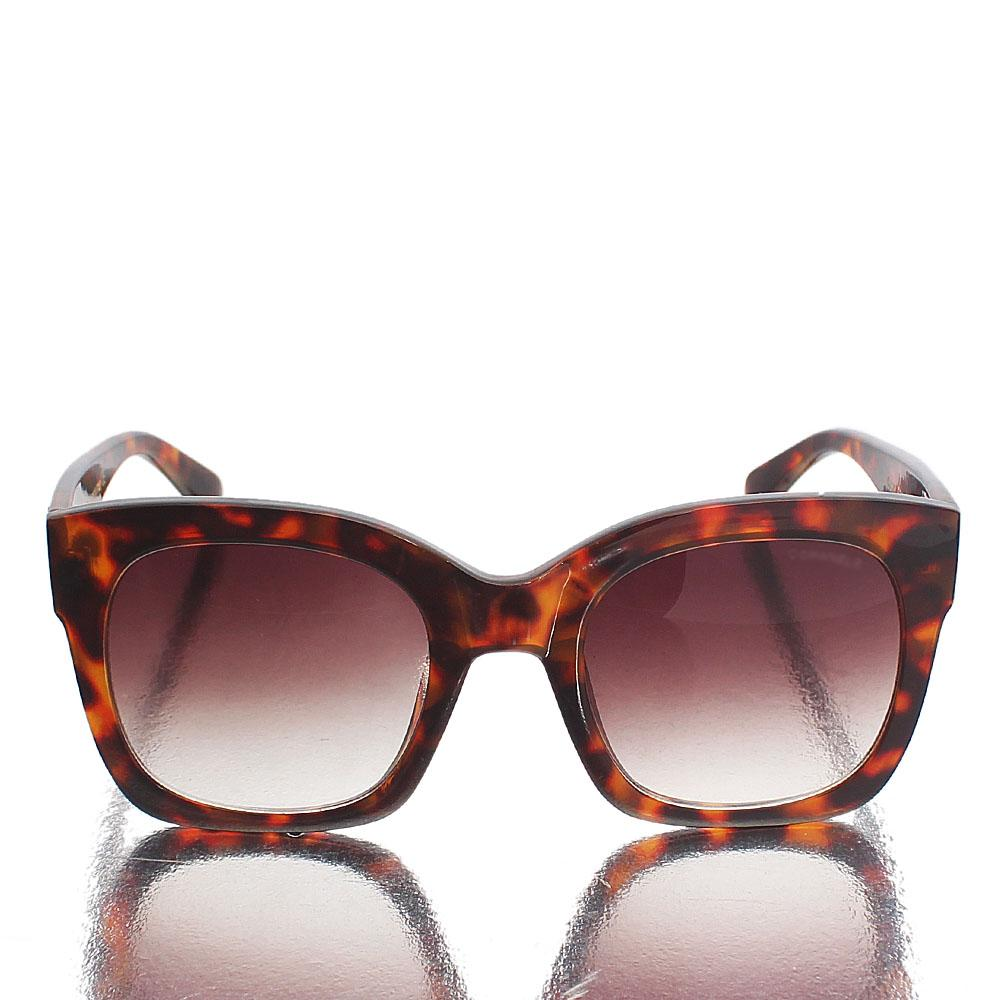 Brown Mix Square Face Sunglasses
