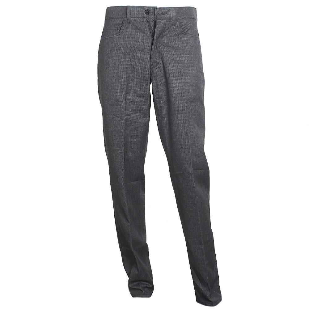 M&S Collection Grey Straight Cut Men Trouser