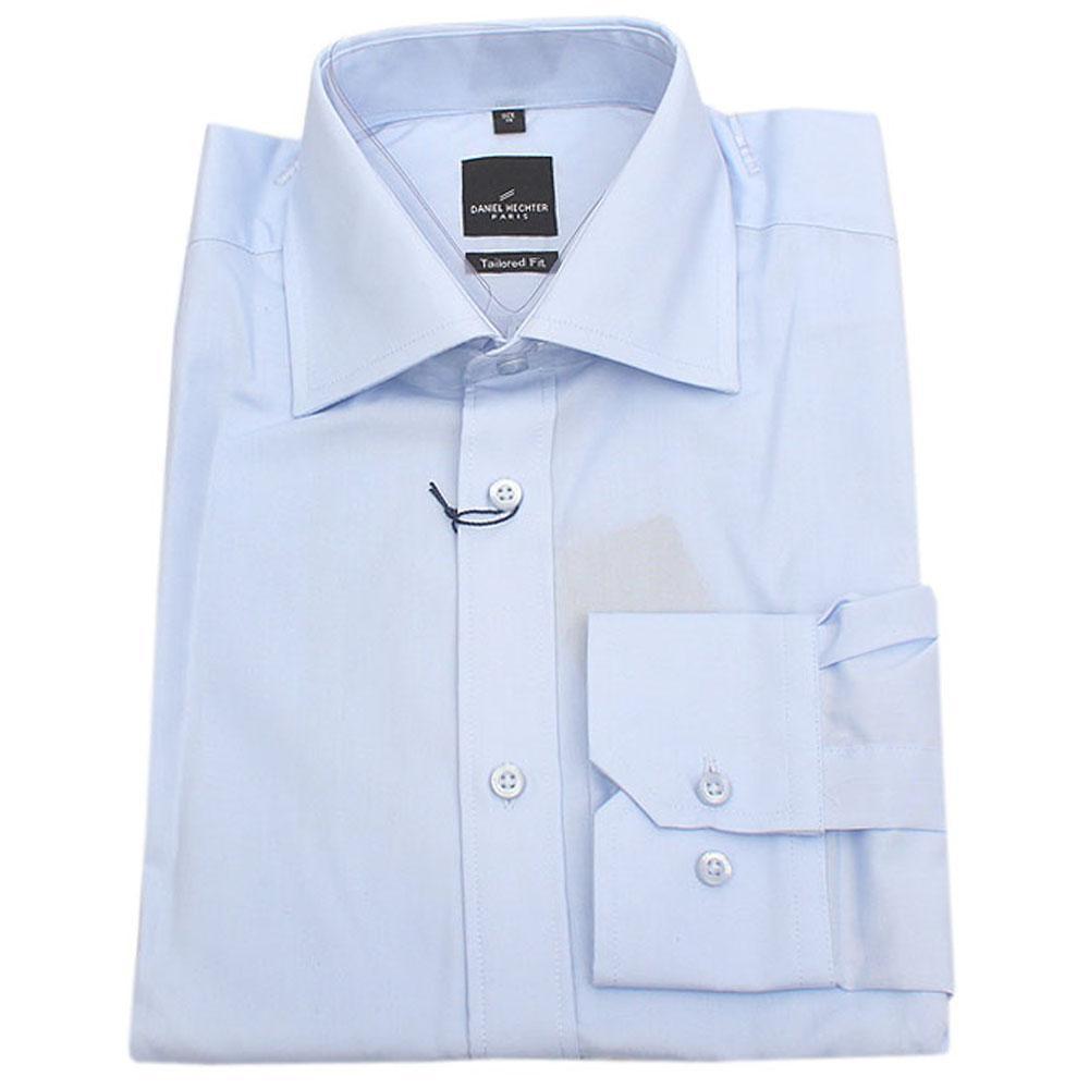 Daniel-Hechter-Sky-Blue-LSleeve-Tailored-Fit-Men-
