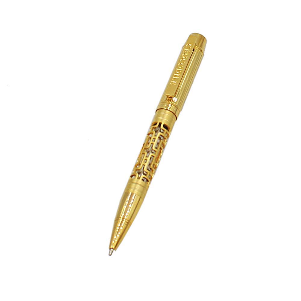 Gold Skeletal Ballpoint Pen