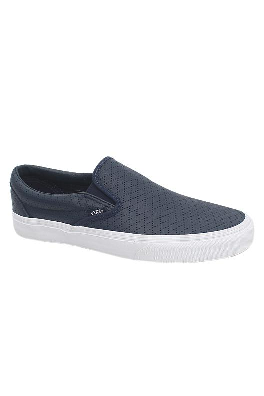 Vans Blue White Slip On Men Sneakers