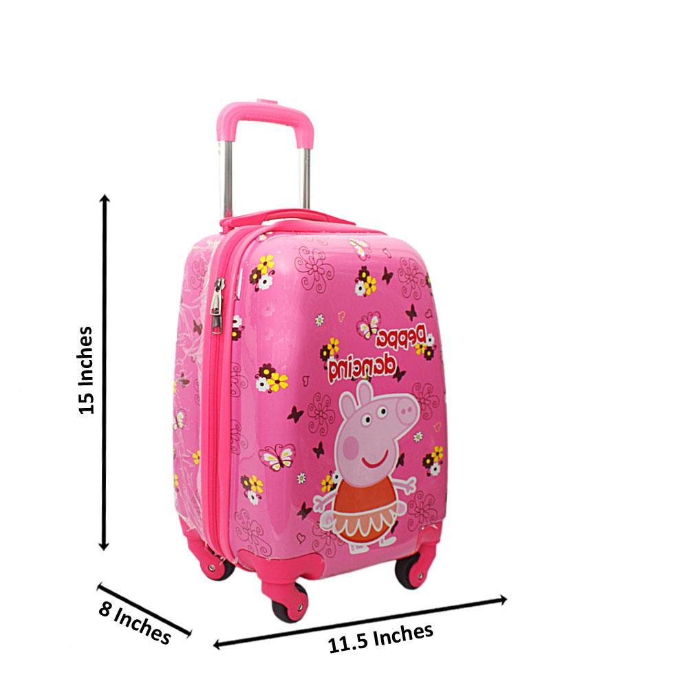 Peppa Pink 9Inch Small Carry On Children Luggage