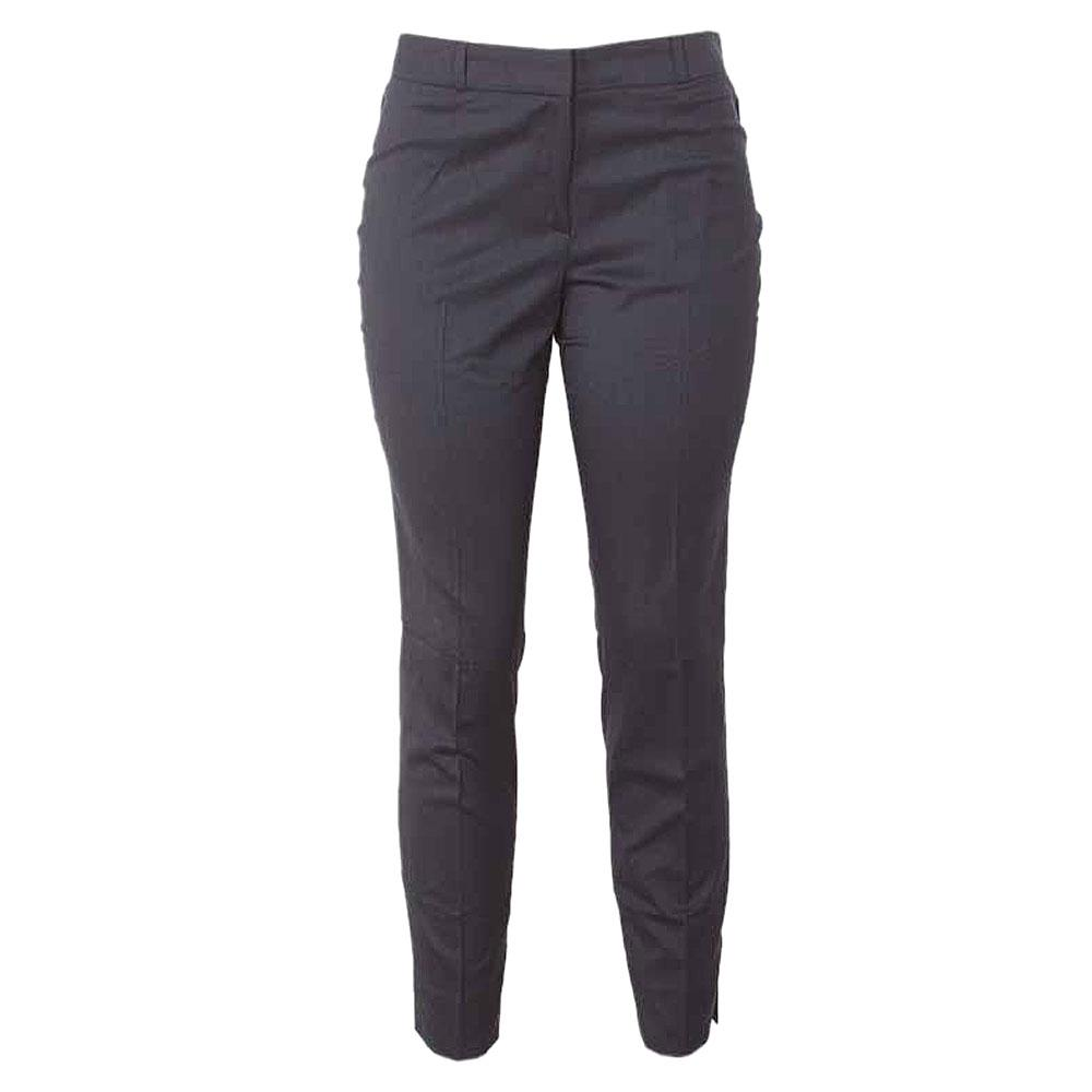 M&S Ankle Grazer Deep Blue Ladies Trouser-Uk 14