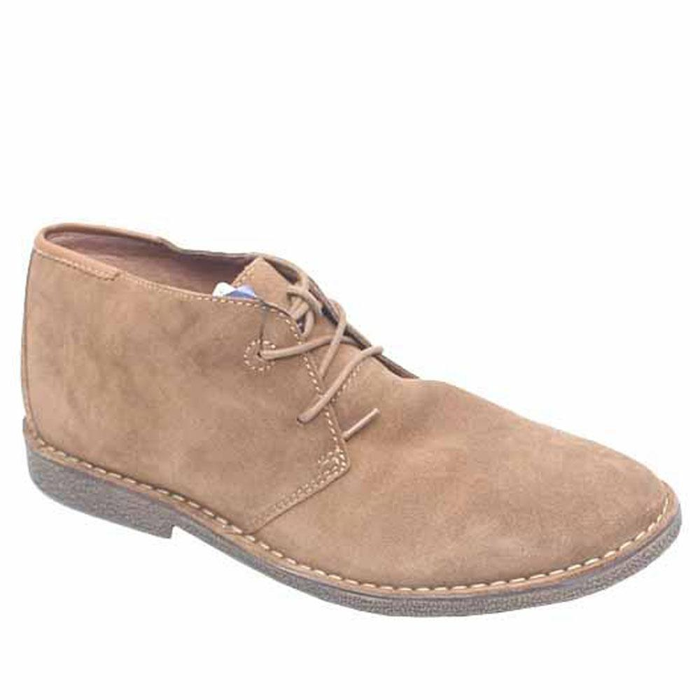Limited Brown Suede Leather Men Shoe