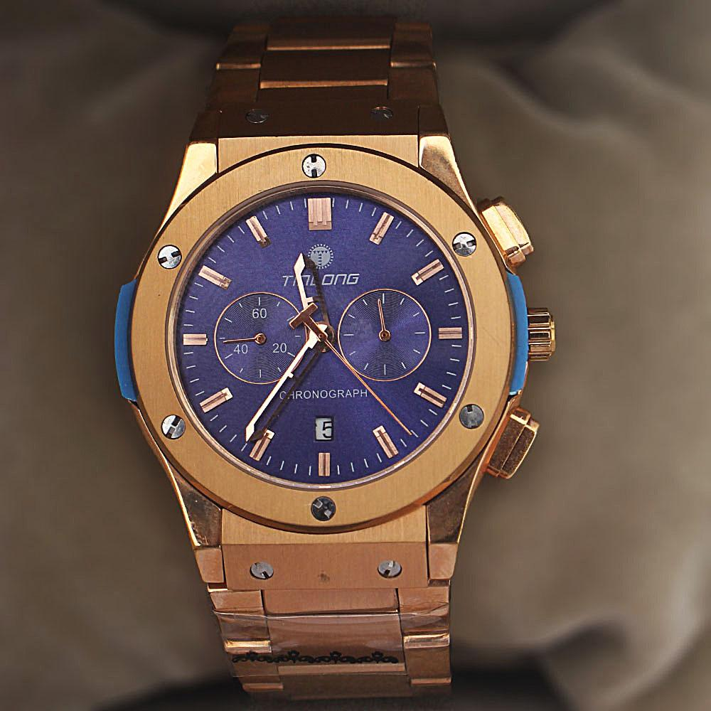 Big Bang Rose Gold Stainless Steel Chronograph Watch