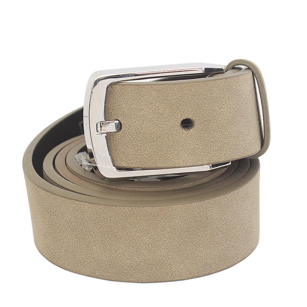 M&S Autograph Khaki Leather Reversible Belt L 42 Inches
