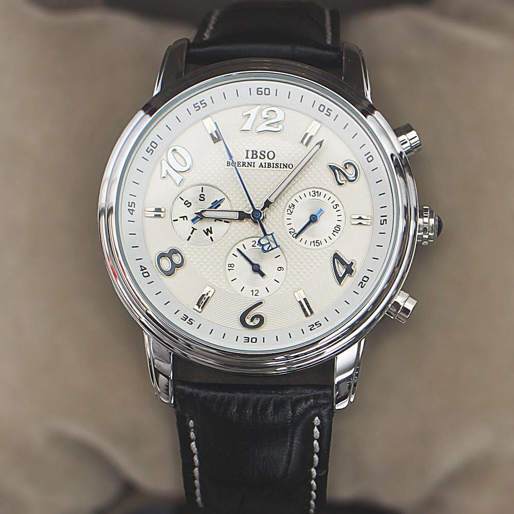 Navigator GP Black Leather Small Face Watch