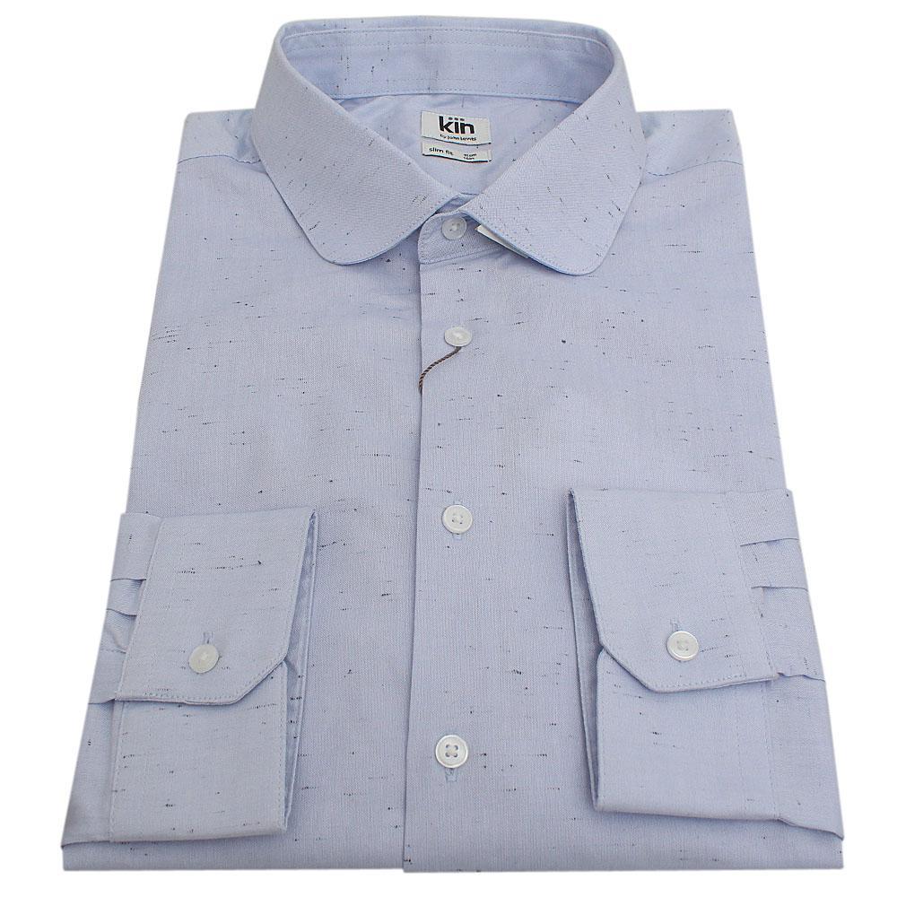 Kin Blue L/Sleeve Men Shirt