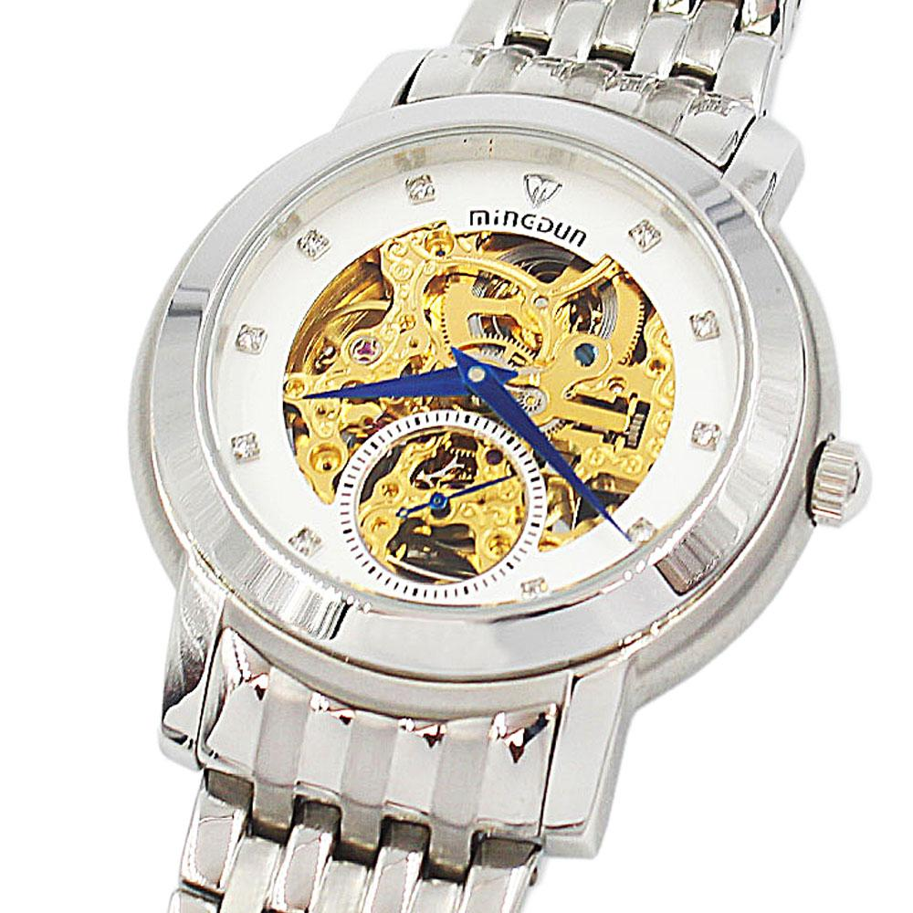Shanghai Marcello Stainless Steel Automatic Skeletal Watch