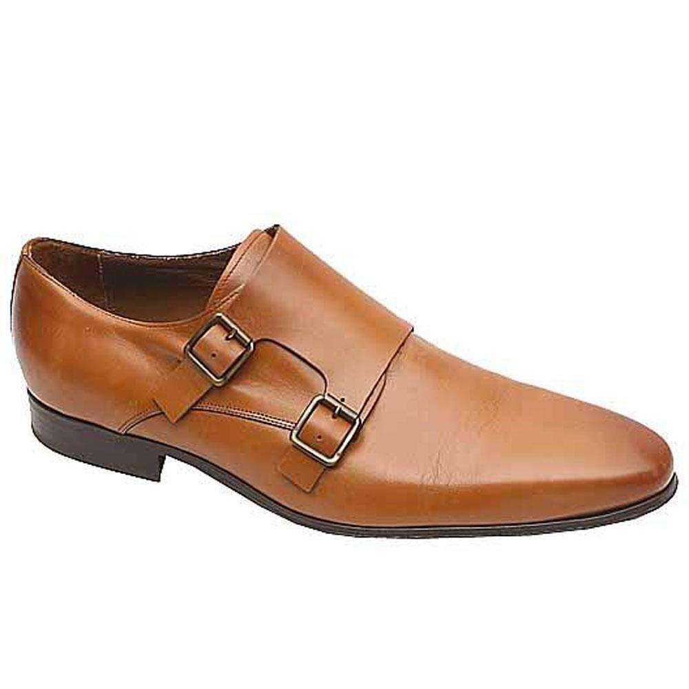 Marks & Spencer Collezione Brown Leather Men Shoe-46