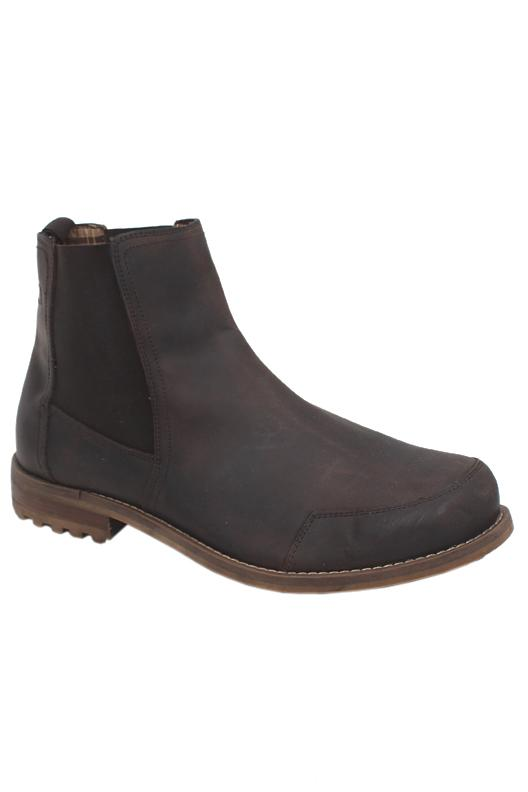 M&S North Coast Brown Slip On Men Boot
