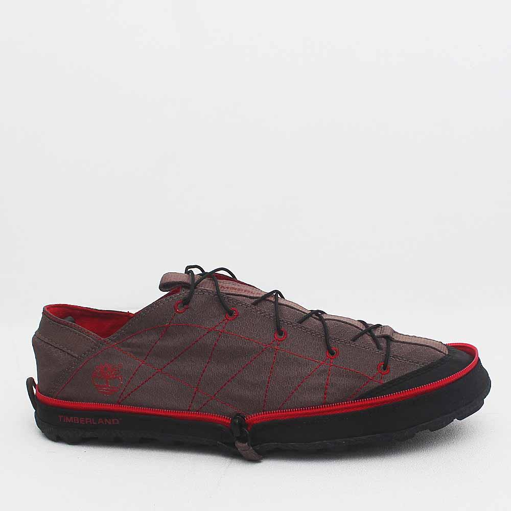 Timberland Brown/Red Men's Foldable Sneakers Wt Lace- UK9.5/Eur44