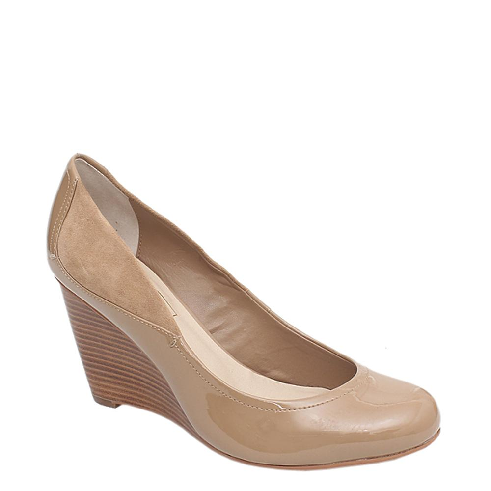 M&S Autograph Widerfit Beige Ladies Wedge-Sz 40.5