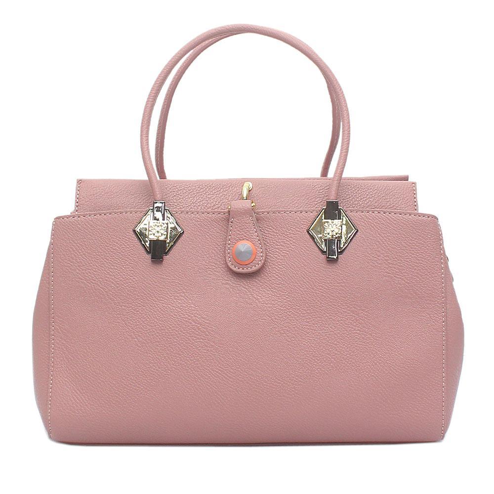 Baboli Lilac Leather Handbag