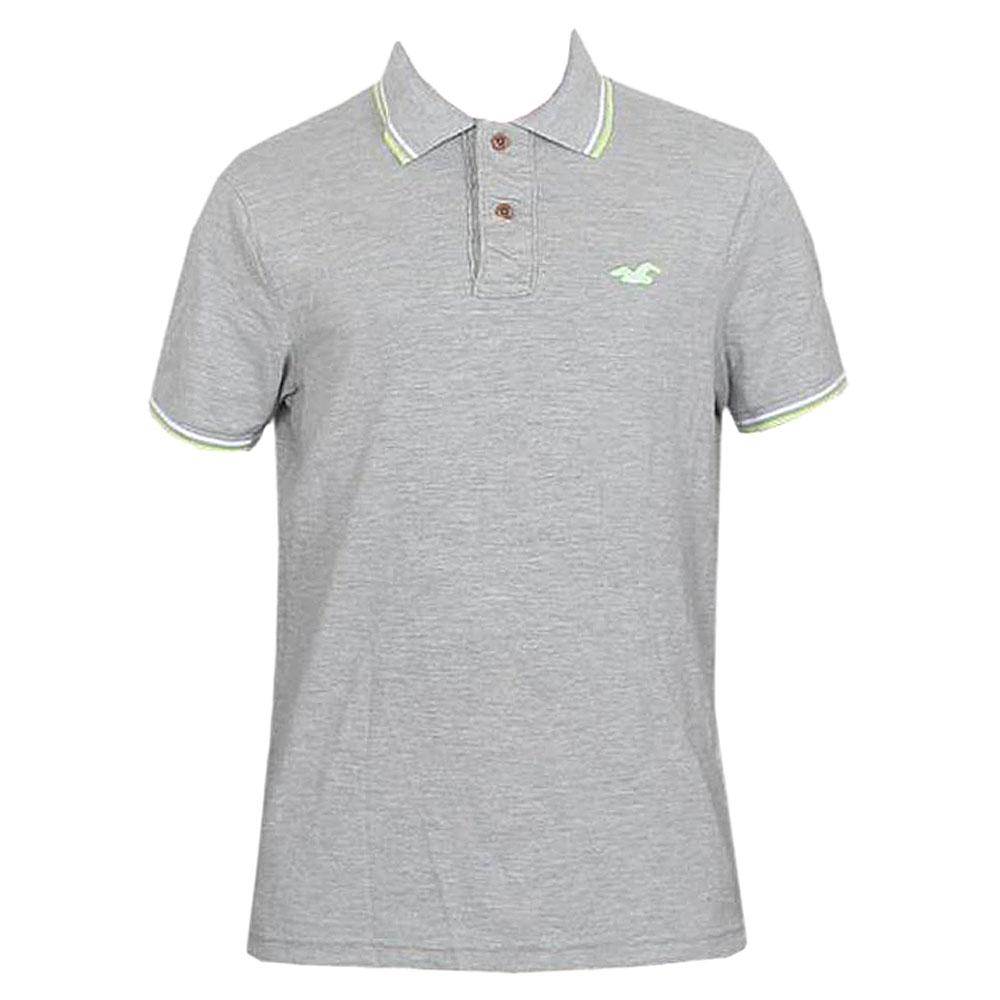 Hollister Grey Men's Polo-L