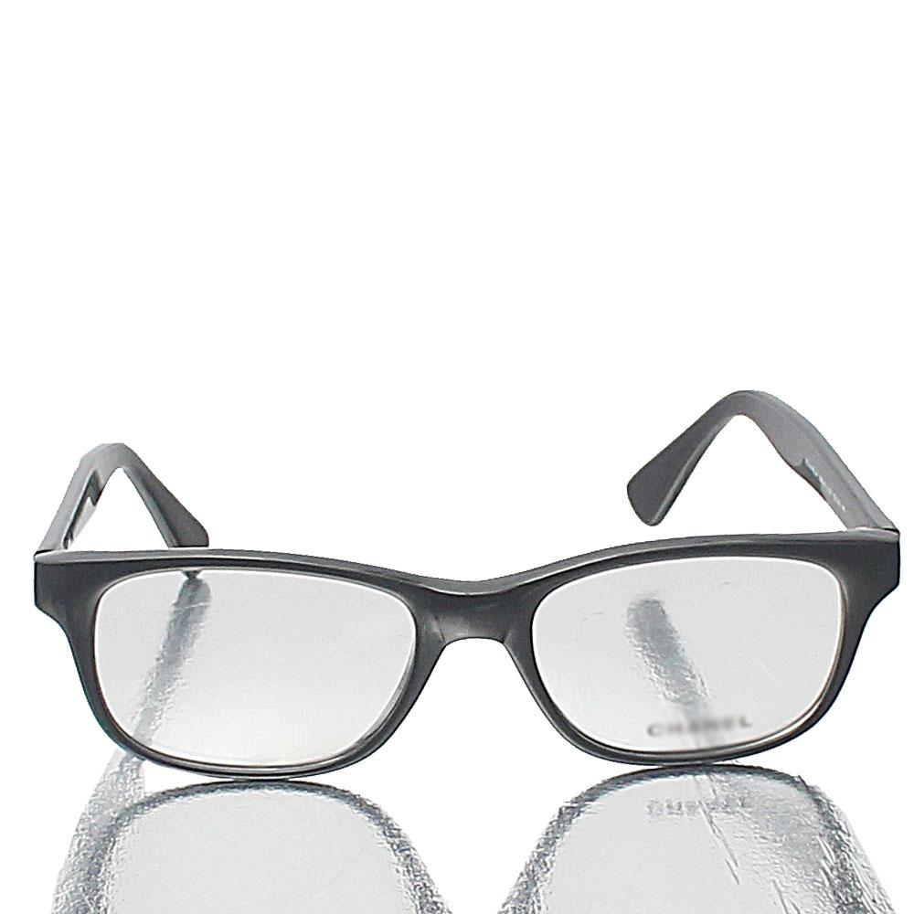 Black Transparent Lens Glasses