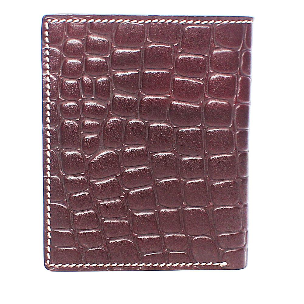 Coffee Brown Single Fold Leather Wallet