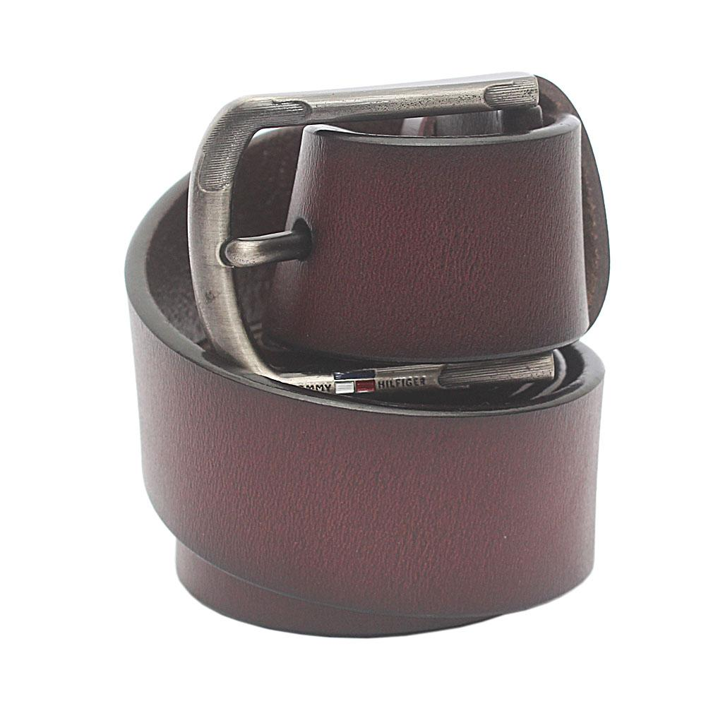 Brown Exotic Leather Belt  L 48 Inches