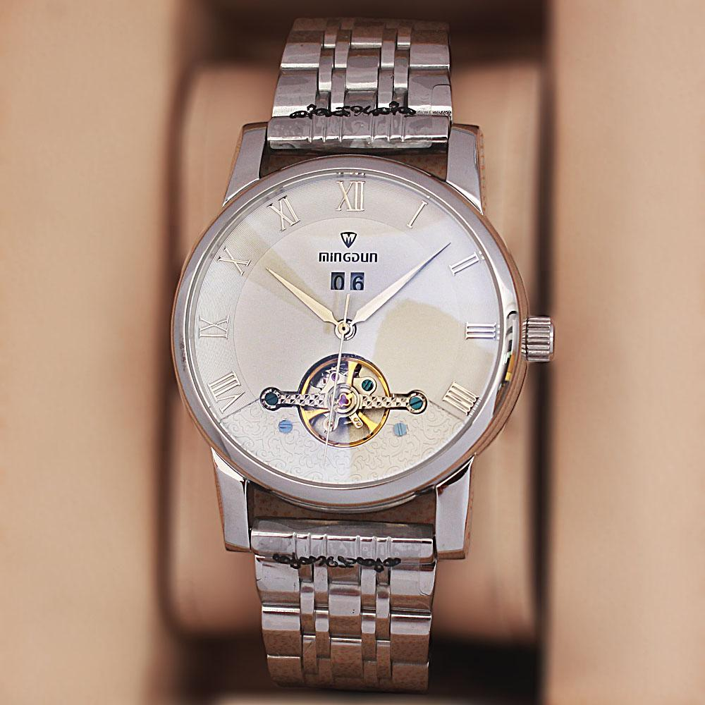 Shanghai Eco Swift Silver Stainless Steel Automatic Watch