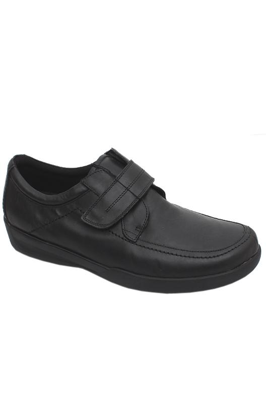 M&S Airflex Black Men Shoe