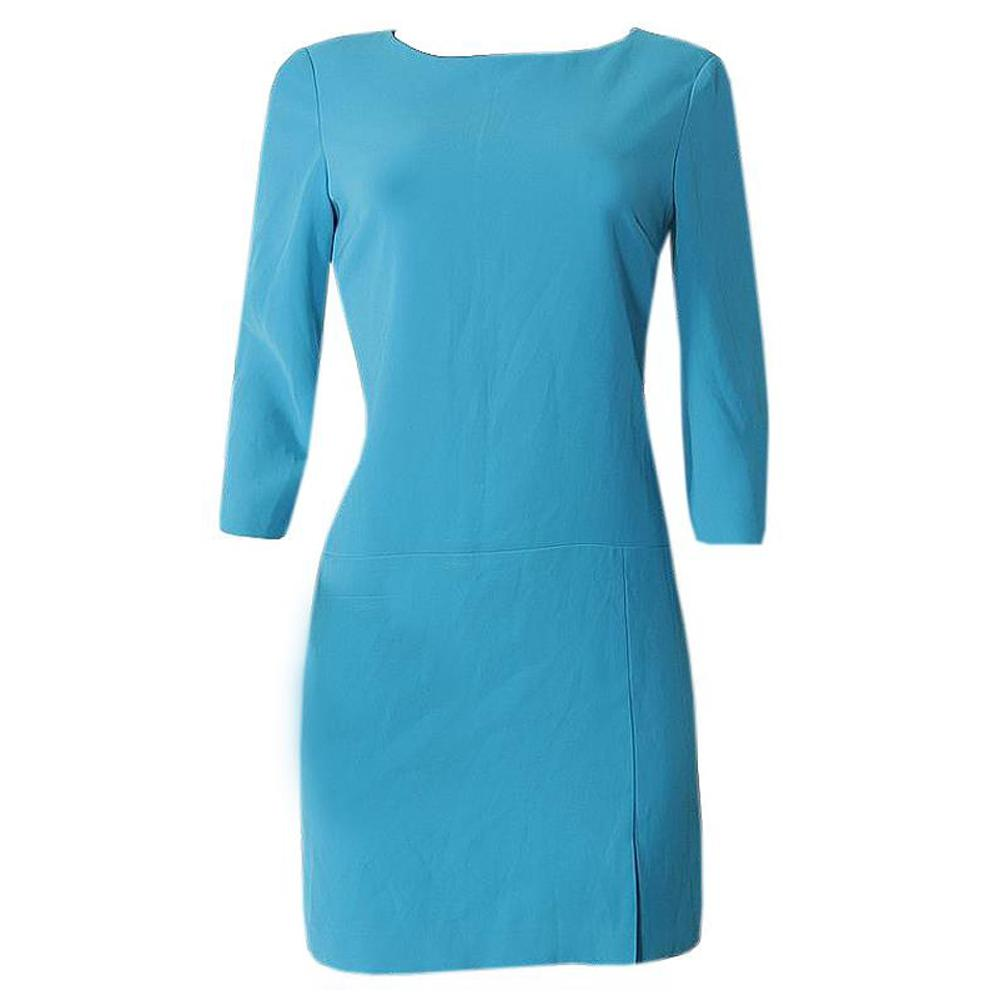 Nine West Turquoise Blue Ladies Short Dress-Uk14