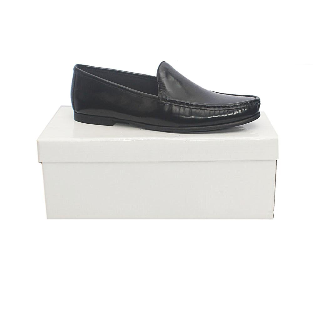 Kurt Geiger Ramsgate Black Premium Leather Shoe