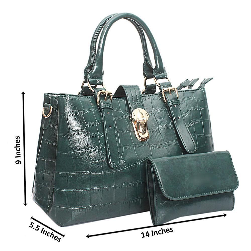 Green-Croc-Leather-Medium-Milano-Bag