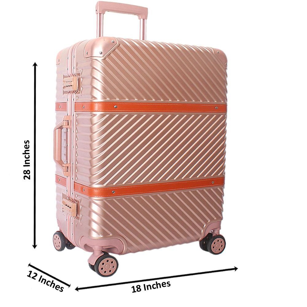 Baby Pink 28 Inch Hardshell 4 Wheels Spinners Large Suitcase