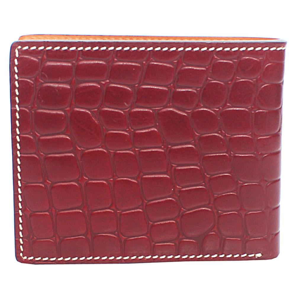 Brown Single Fold Leather Wallet