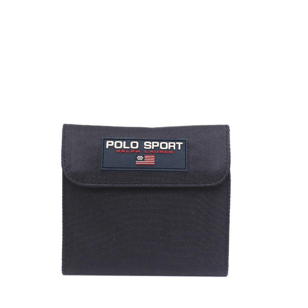 Ralph Laurel Polo Sport Blue Fabric Men Wallet