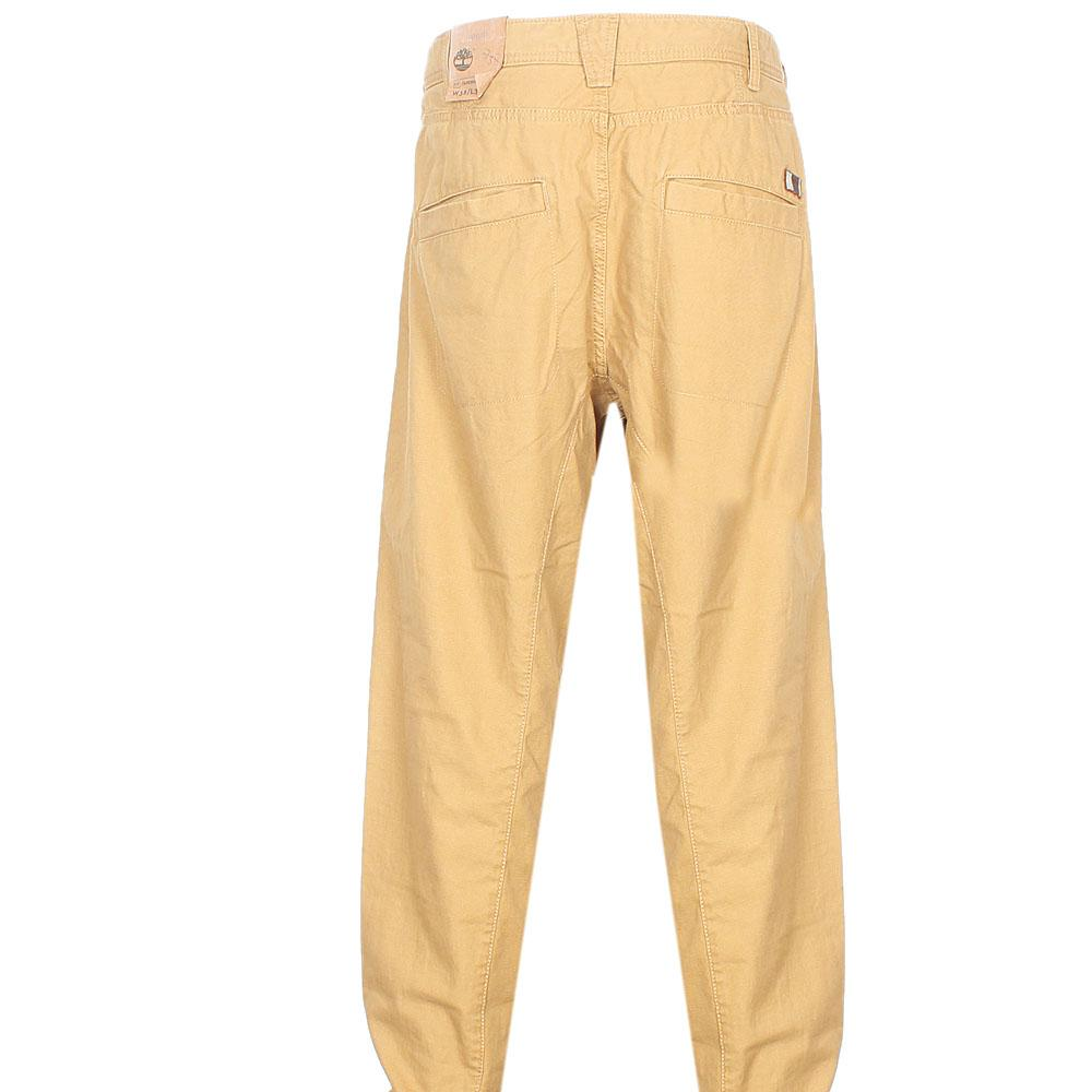 Timberland Brown Straight Cut Men Chinos W38/L34