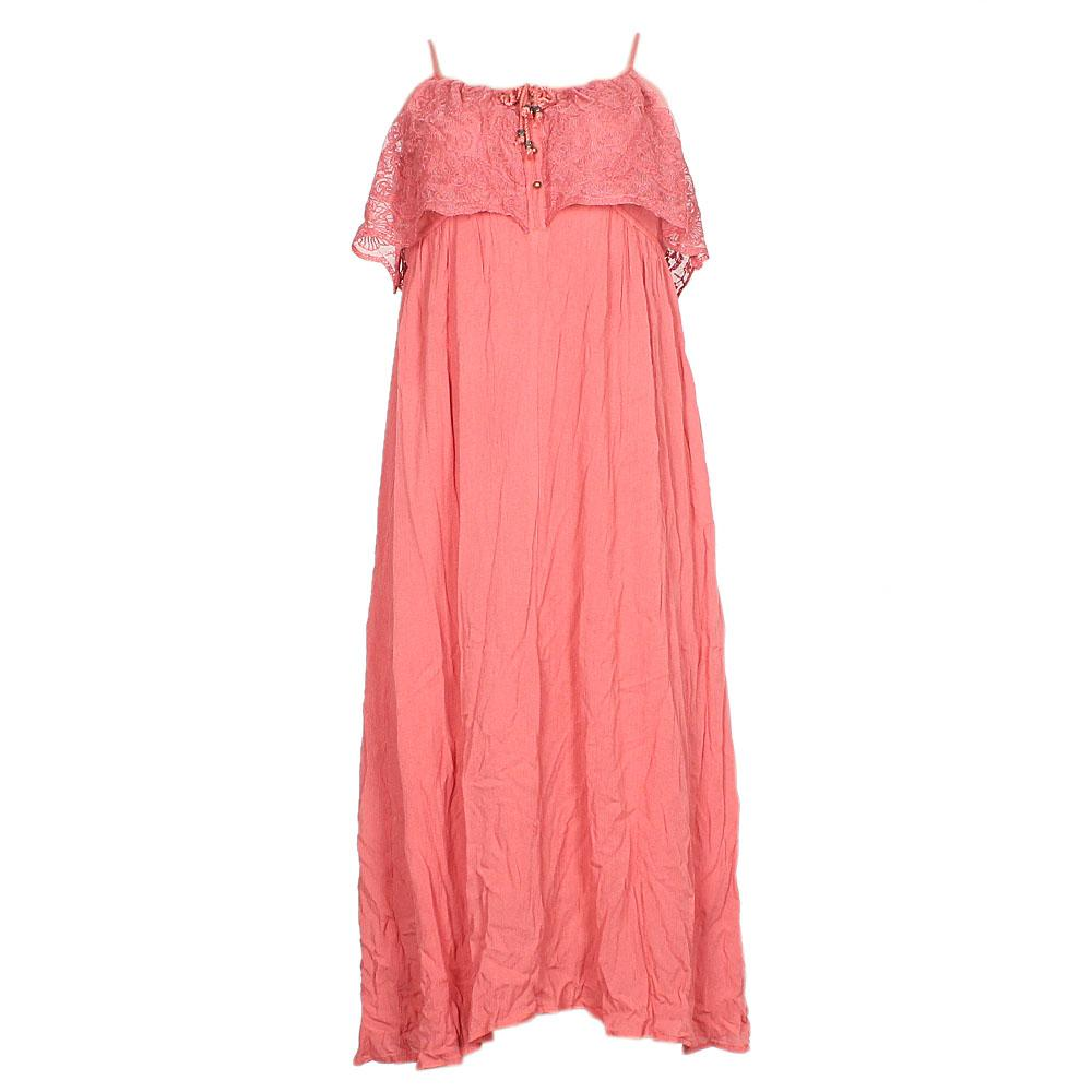M&S Pink Sleeveless Chiffon Dress UK 6