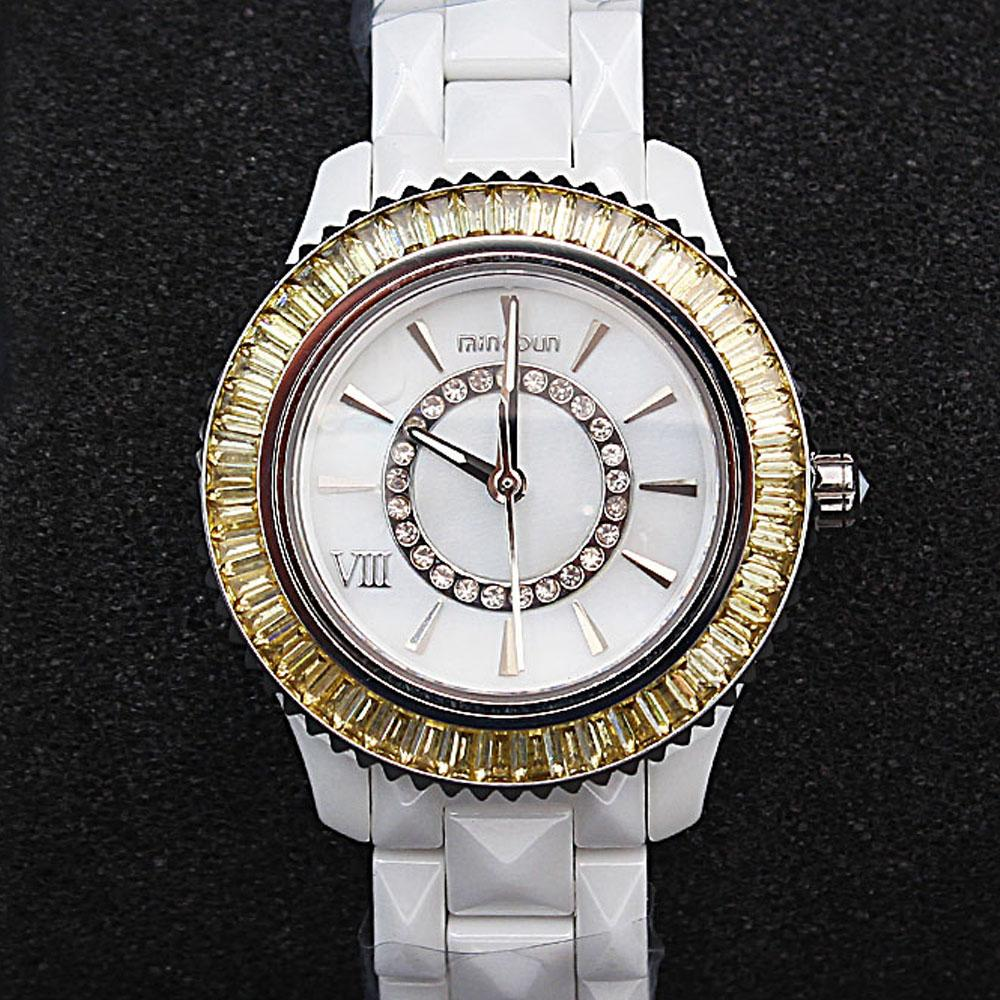 Empire Yellow Stone Ceramic Ladies Watch