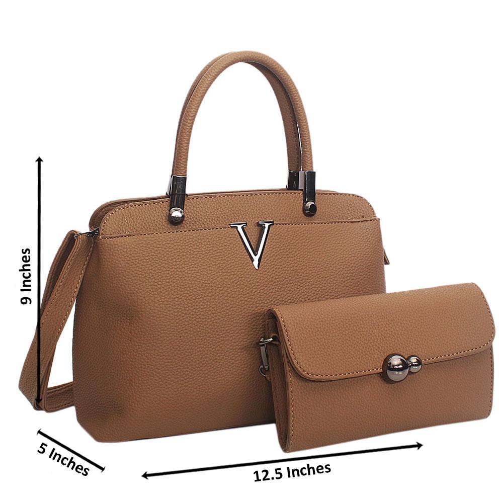 Brown Meadow Tuscany Leather Top Handle Handbag