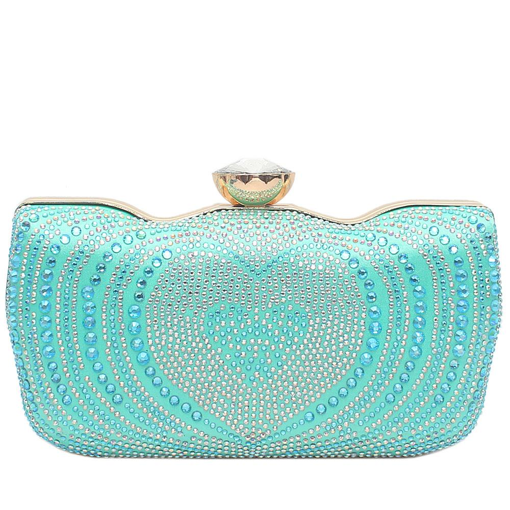 Mint Green Young Star Hard Clutch