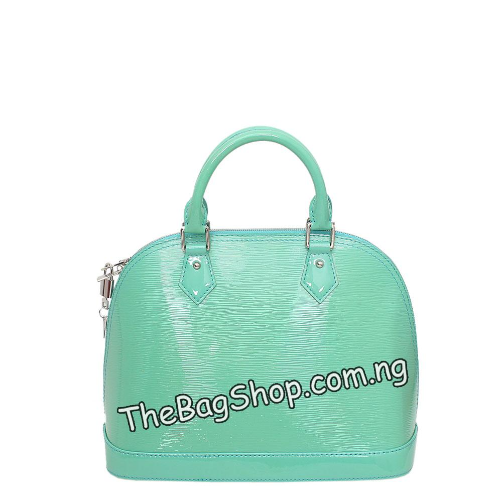 Hinoee-Green-Leather-Tote-Bag