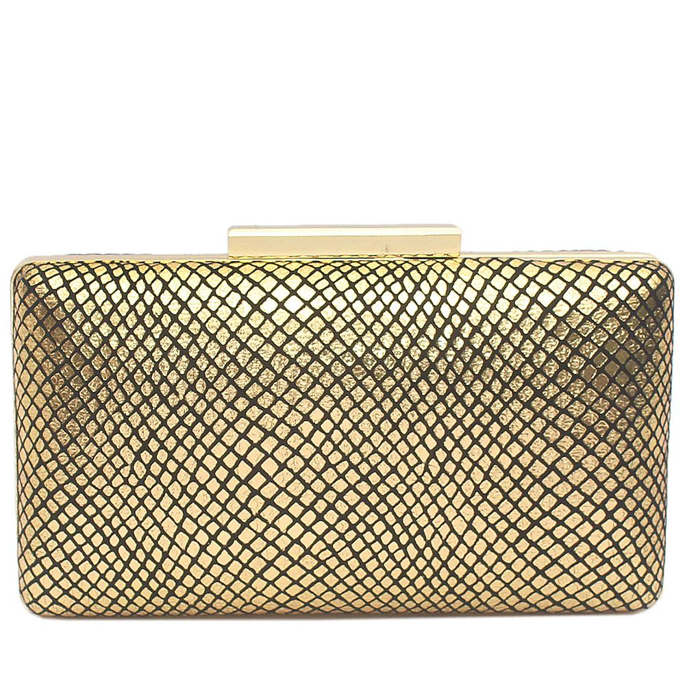 Gold Alice Clutch Purse