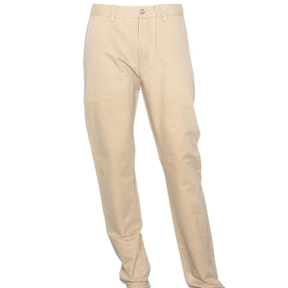 Billionaire Khaki Brown Classic Fit Men Chinos