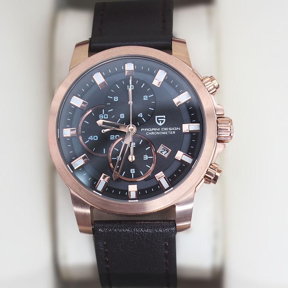 P-Design Coffee Sport Chronograph Watch