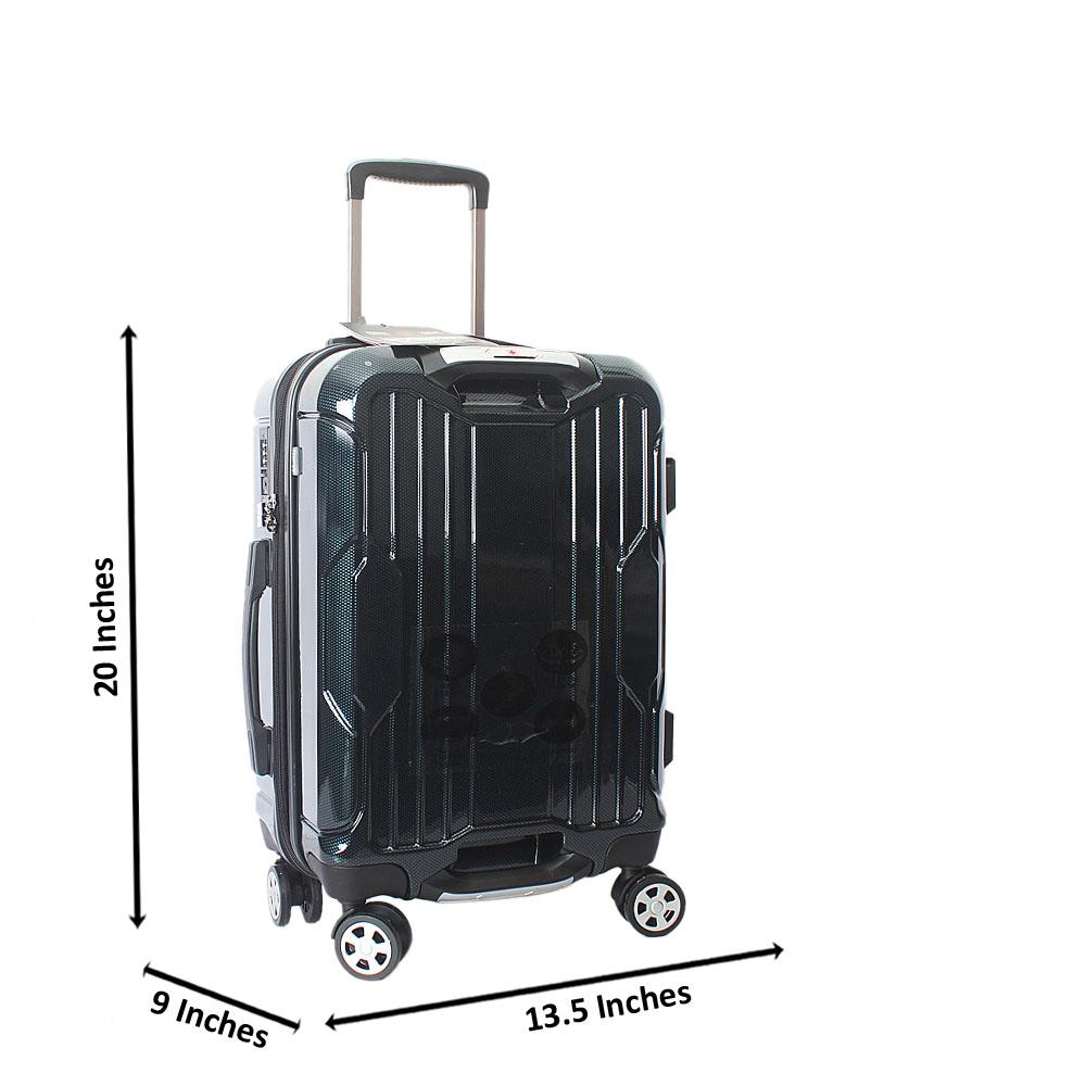 Saint Wine 20 inch  Hardshell Spinners Premium Carry On Luggage