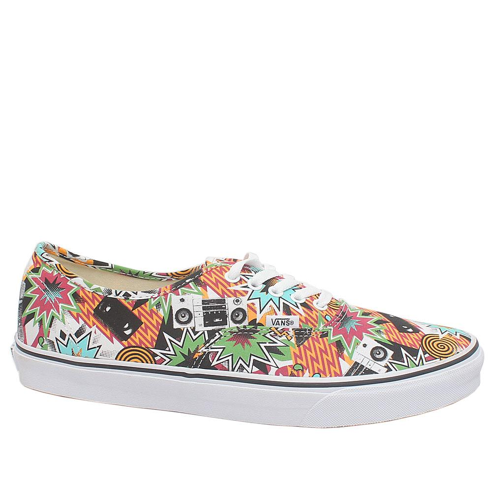 Vans Off The Wall Multicolor Fabric Men Sneakers