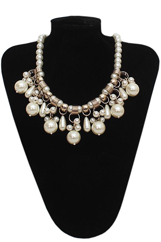 Per Una Cream Pearl Necklace