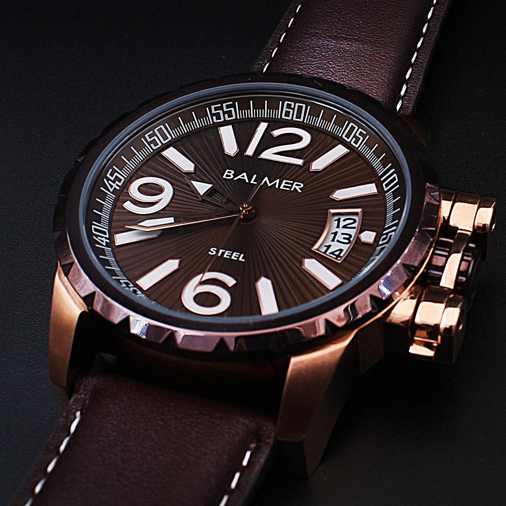 Big Bang Brown Leather Divers Watch