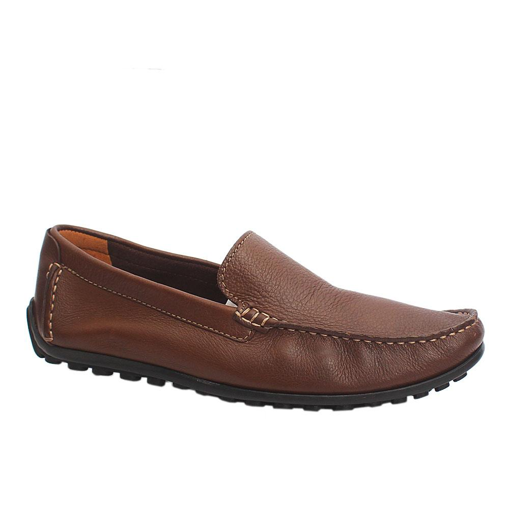 Clarks Ortholite Brown Premium Leather Loafers