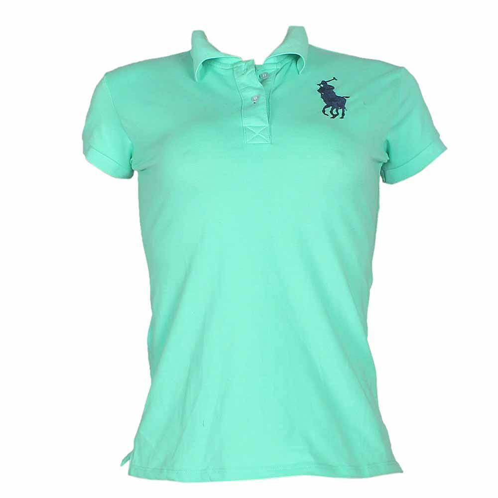 Polo Ralph Green Ladies Polo