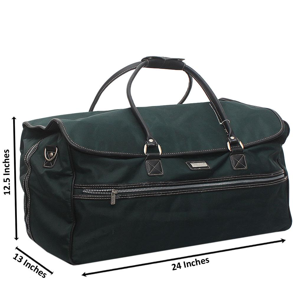 Green-Harrods-Fabric-Holdall-Bag