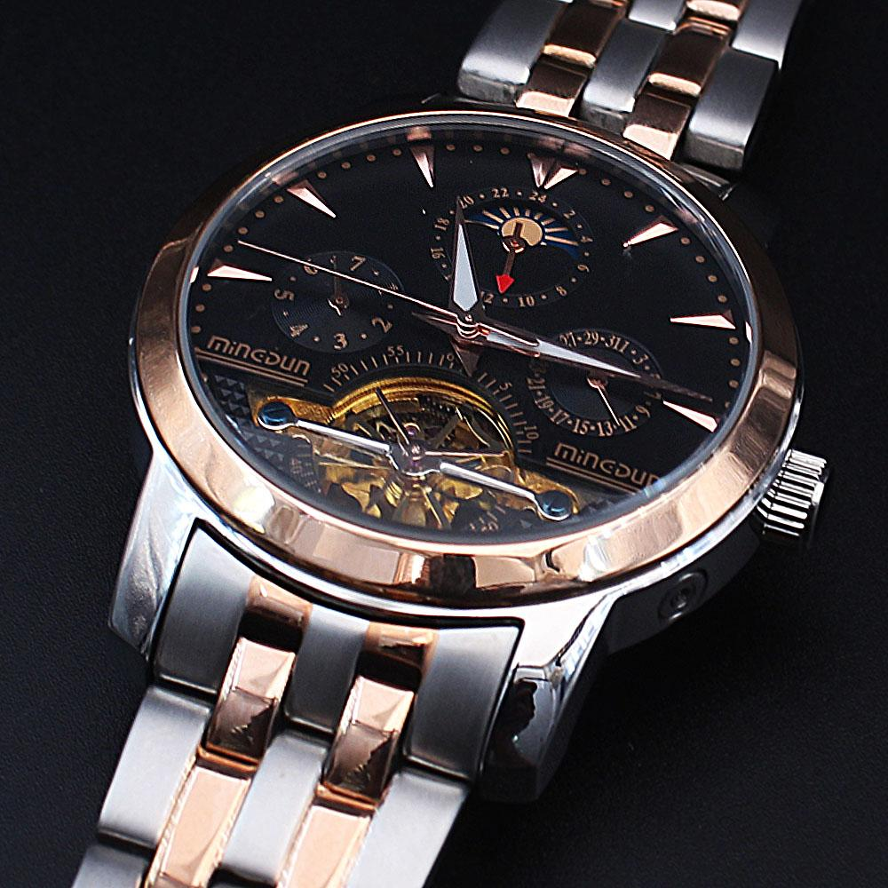 Shanghai Marcello Twin Tone Steel Automatic Pilot Watch