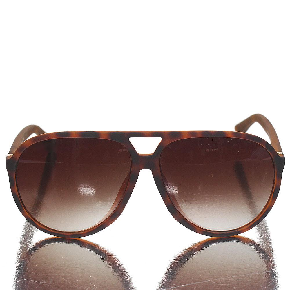 Brown Designer Pilot brown Len Sunglasses